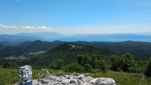 Višervica, Strilež, Zagradski vrh